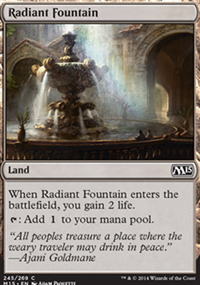 Radiant Fountain - Magic 2015