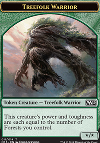 Treefolk Warrior - Magic 2015