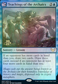 Teachings of the Archaics - Prerelease Promos