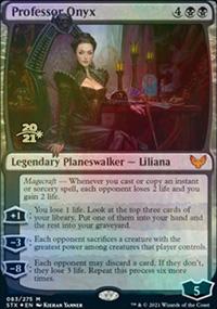 Professor Onyx - Prerelease Promos