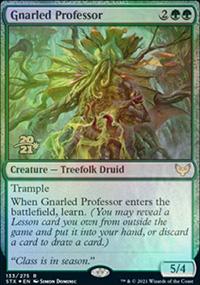 Gnarled Professor - Prerelease Promos