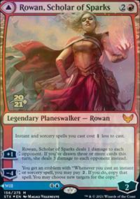 Rowan, Scholar of Sparks - Prerelease Promos