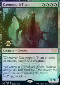 Daemogoth Titan - Prerelease Promos