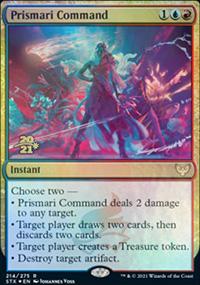 Prismari Command - Prerelease Promos
