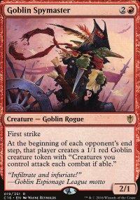 Goblin Spymaster - Commander 2016