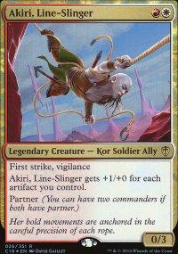 Akiri, Line-Slinger - Commander 2016