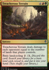 Treacherous Terrain - Commander 2016