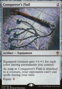 Conqueror's Flail - Commander 2016
