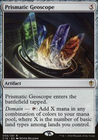 Prismatic Geoscope - Commander 2016