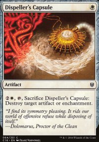 Dispeller's Capsule - Commander 2016