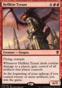 Hellkite Tyrant - Commander 2016