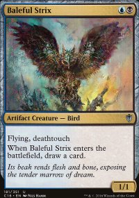 Baleful Strix - Commander 2016