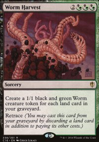 Worm Harvest - Commander 2016