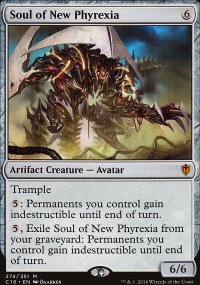 Soul of New Phyrexia - Commander 2016