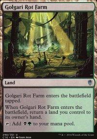 Golgari Rot Farm - Commander 2016