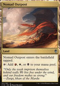 Nomad Outpost - Commander 2016