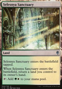 Selesnya Sanctuary - Commander 2016