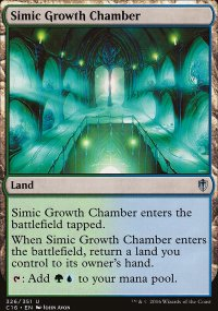 Simic Growth Chamber - Commander 2016
