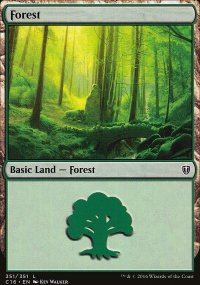 Forest 3 - Commander 2016