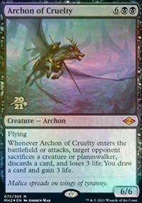 Archon of Cruelty - Prerelease Promos