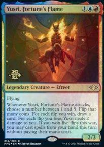 Yusri, Fortune's Flame - Prerelease Promos