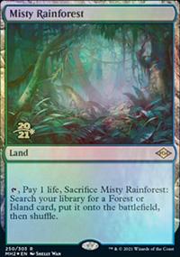 Misty Rainforest - Prerelease Promos