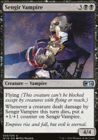Sengir Vampire - Welcome Deck 2016