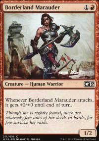 Borderland Marauder - Welcome Deck 2016