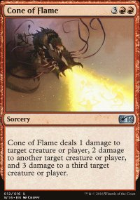 Cone of Flame - Welcome Deck 2016
