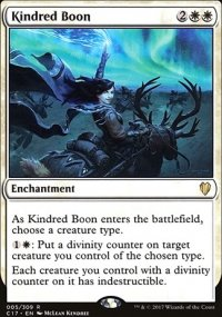 Kindred Boon - Commander 2017
