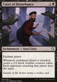 Curse of Disturbance - Commander 2017
