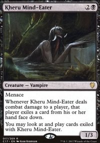 Kheru Mind-Eater - Commander 2017