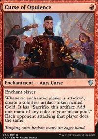 Curse of Opulence - Commander 2017