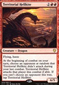 Territorial Hellkite - Commander 2017