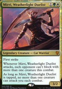 Mirri, Weatherlight Duelist - Commander 2017