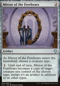 Mirror of the Forebears - Commander 2017