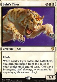 Seht's Tiger - Commander 2017