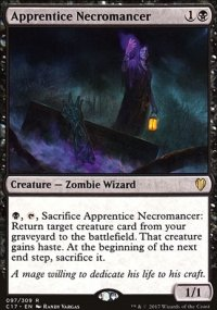 Apprentice Necromancer - Commander 2017