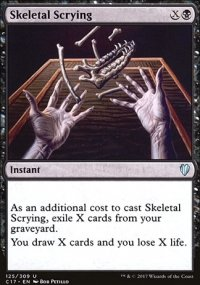 Skeletal Scrying - Commander 2017