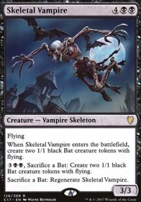 Skeletal Vampire - Commander 2017