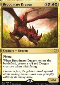 Broodmate Dragon - Commander 2017