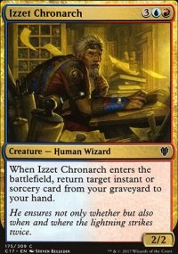 Izzet Chronarch - Commander 2017