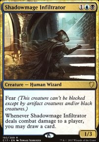 Shadowmage Infiltrator - Commander 2017