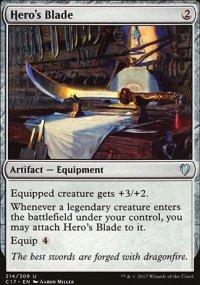 Hero's Blade - Commander 2017