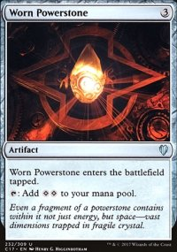 Worn Powerstone - Commander 2017