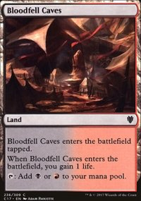 Bloodfell Caves - Commander 2017