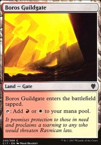 Boros Guildgate - Commander 2017