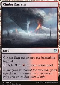 Cinder Barrens - Commander 2017