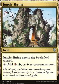 Jungle Shrine - Commander 2017