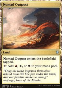 Nomad Outpost - Commander 2017
